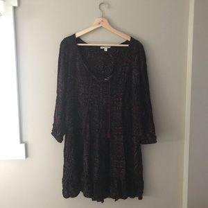American Eagle paisley Print dress